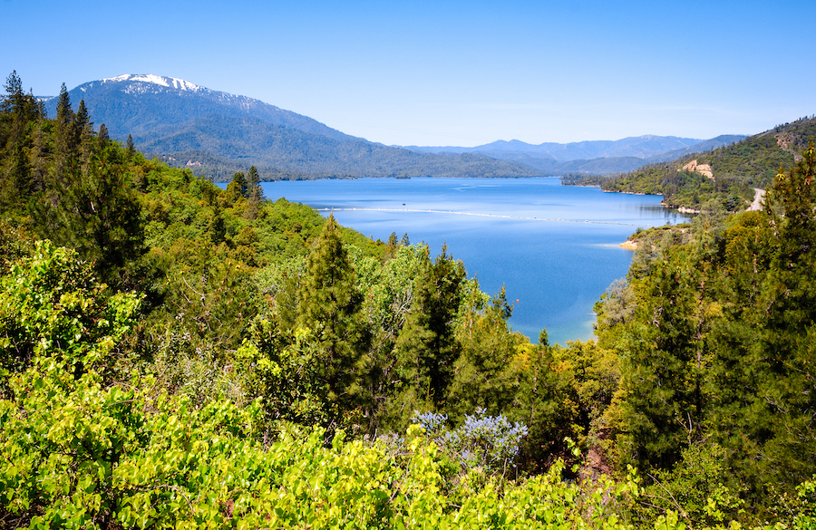 Whiskeytown National Recreation Area in California.