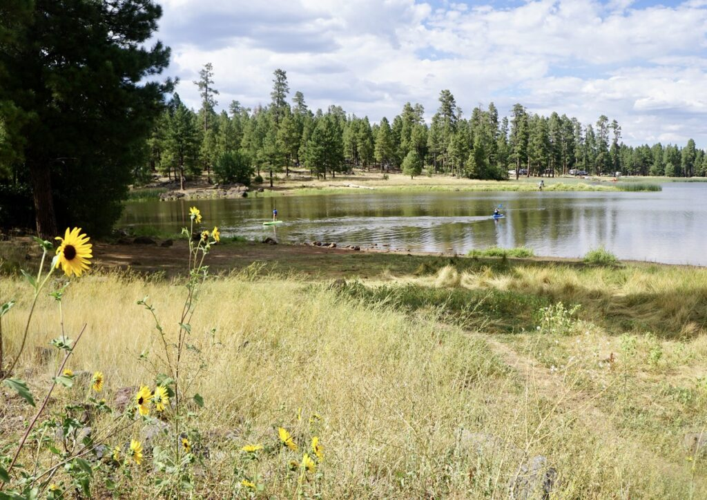White Horse Lake in Arizona.