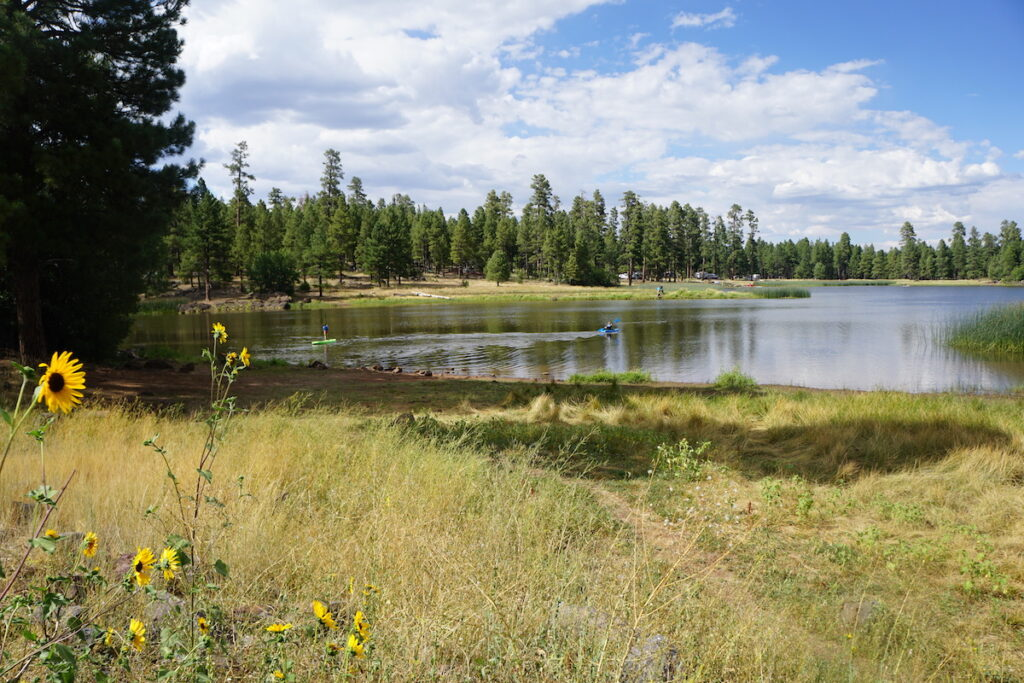 White Horse Lake in Williams, Arizona.
