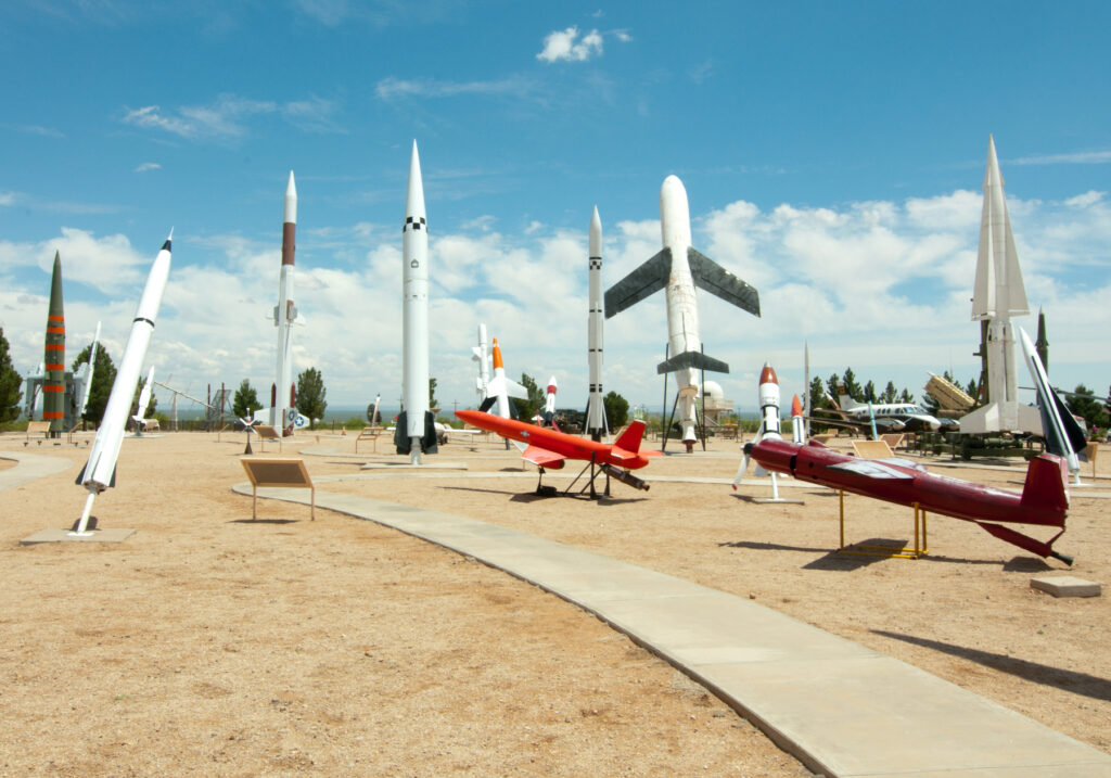 White Sands Missile Range Museum in New Mexico.