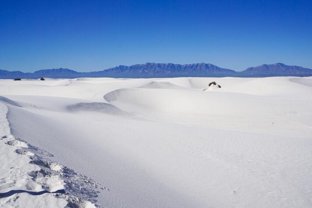 White Sands National Park.