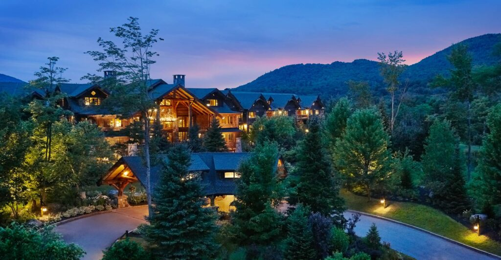 Whiteface Lodge in Lake Placid, New York.
