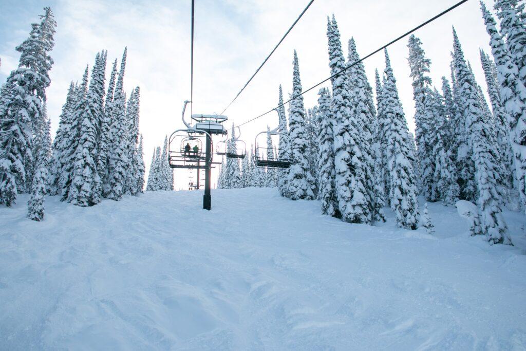 Whitefish Mountain Ski Resort in Montana.
