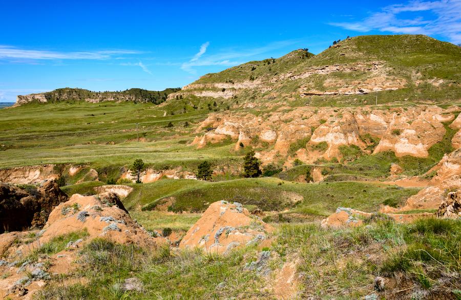 Wildcat Hills State Recreation Area in Gering, Nebraksa.