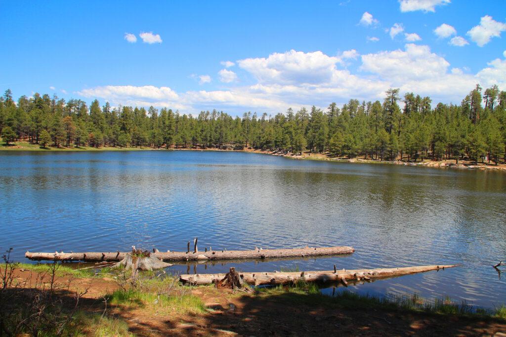Willow Springs Lake near Payson, Arizona.