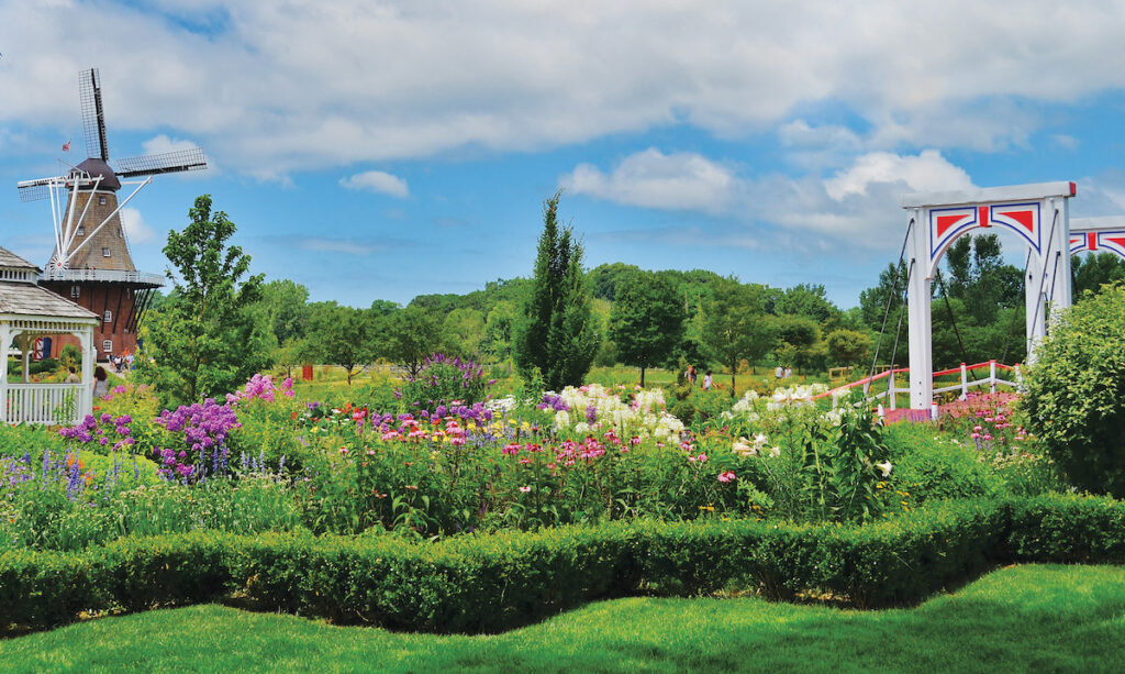 Windmill Island Gardens in Holland, Michigan.