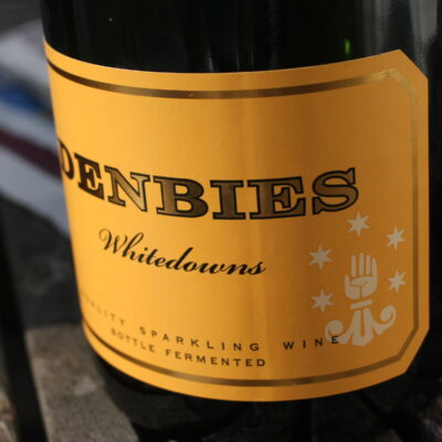 Wine from Denbies Wine Estate in Surrey, England.