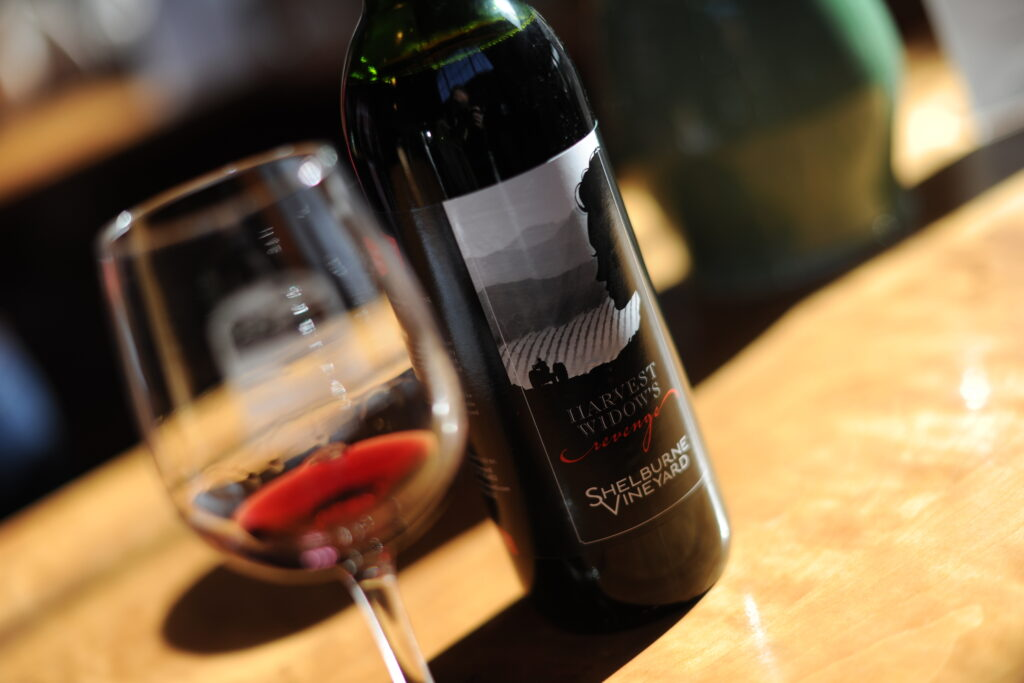 Wine from Shelburne Vineyard in Burlington.