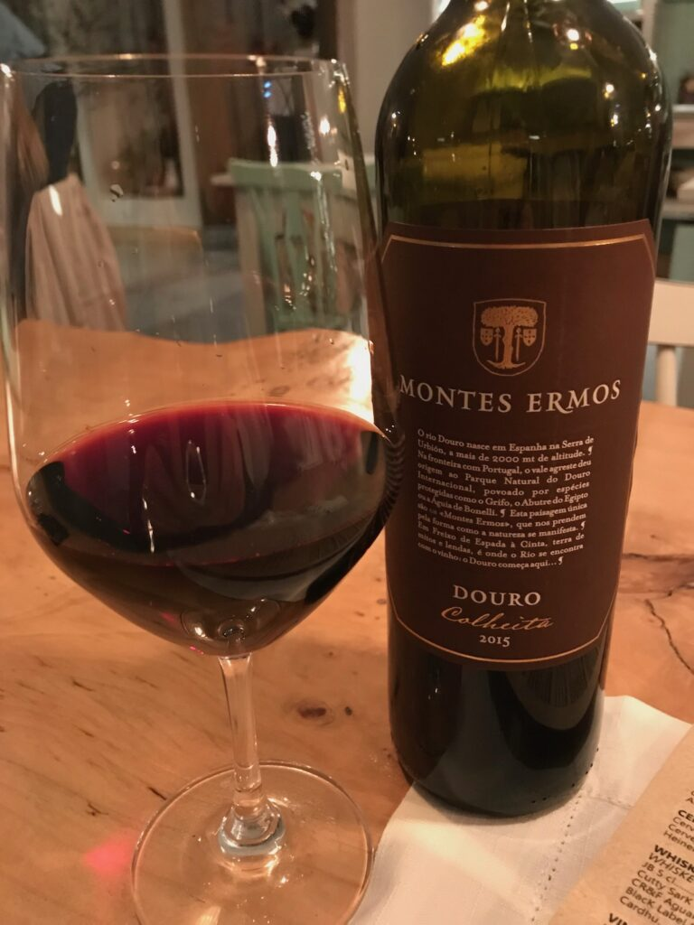 Wine from the Douro region of Portugal.