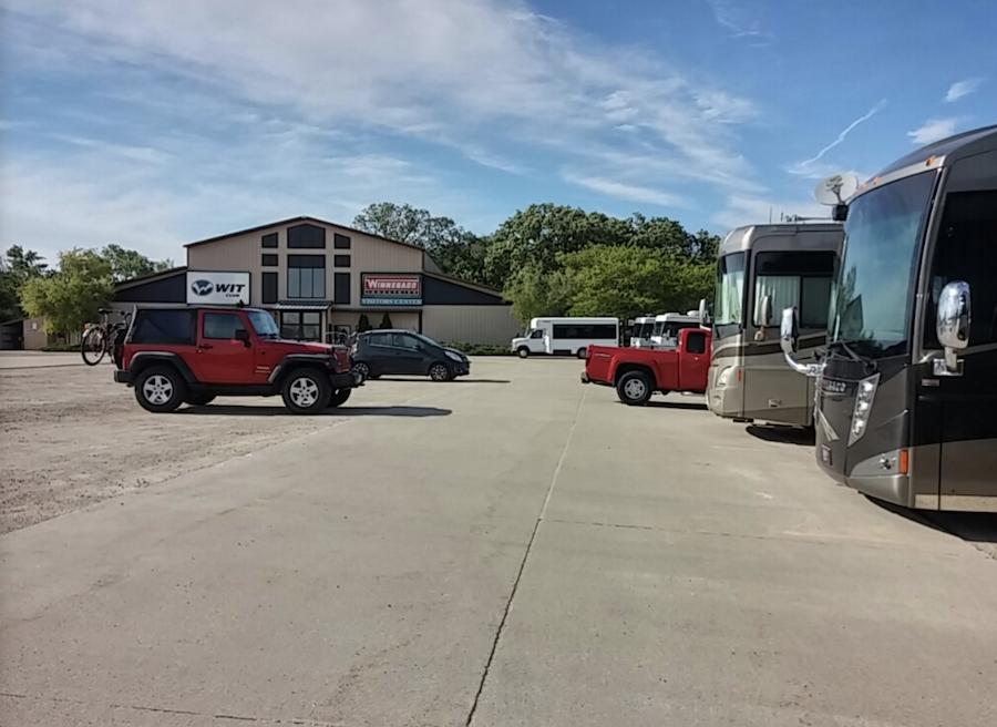 Winnebago Industries in Forest City, Iowa.