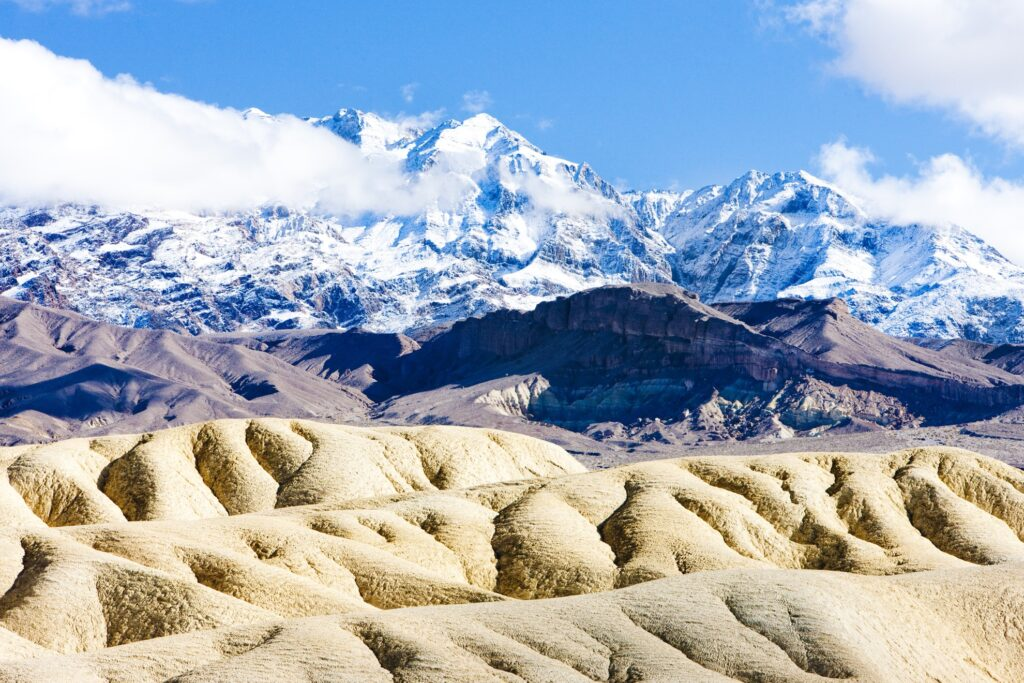 Winter at Death Valley National Park in California.