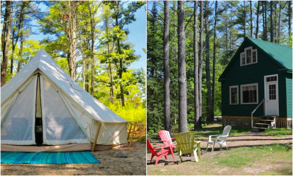 Wolfe's Neck Cabins And Comfort Camping In Freeport