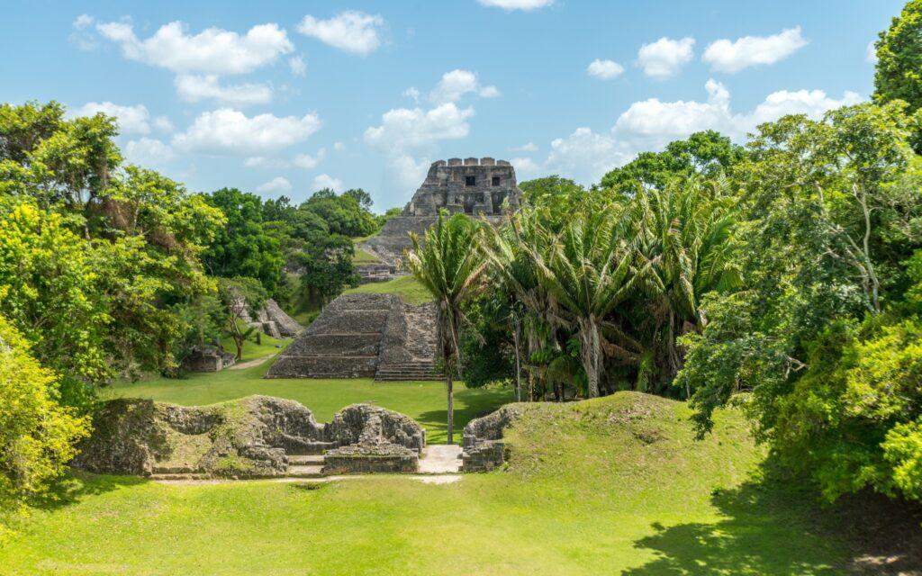 Xunantunich ruins in Cayo, Belize.