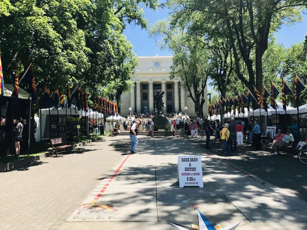 Yavapai County Courthouse Plaza.