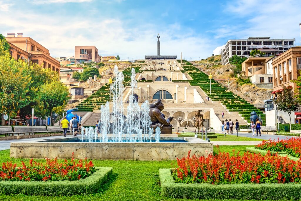 Yerevan in Armenia.