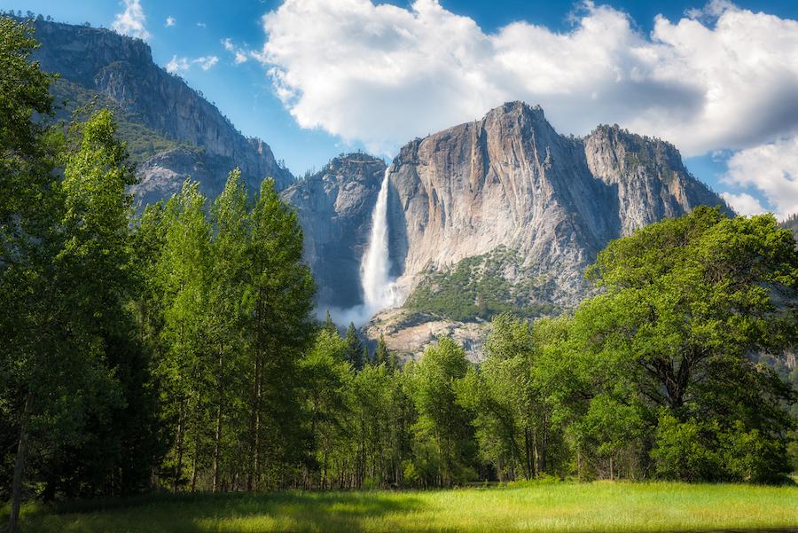 Yosemite National Park in California.