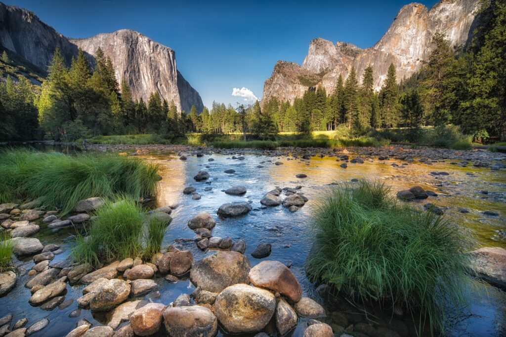 Yosemite National Park in California.
