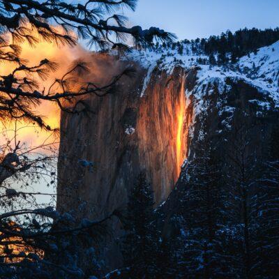Yosemite National Park's Firefall.