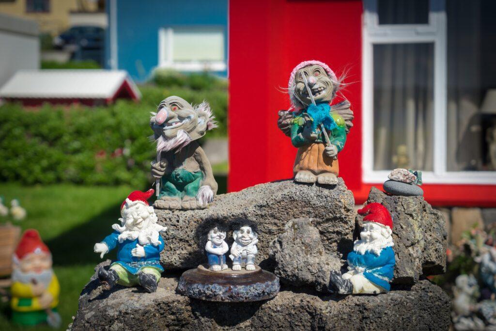 Yule Lad trolls in Iceland.