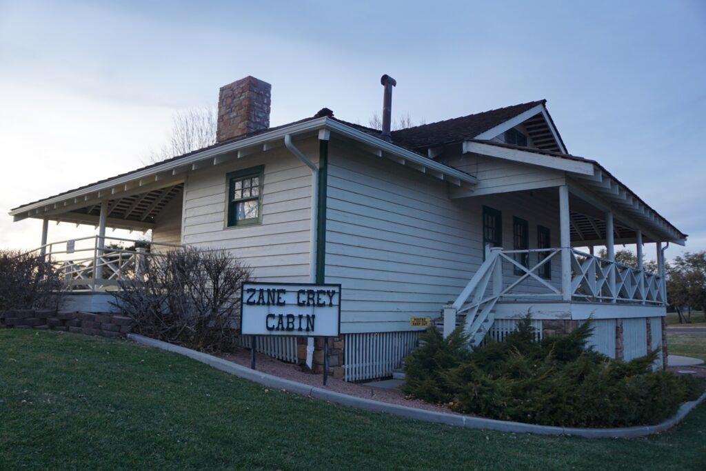 Zane Grey's cabin in Payson, Arizona.