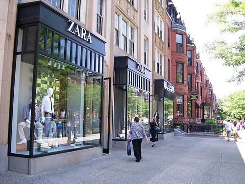 Zara on Newbury Street