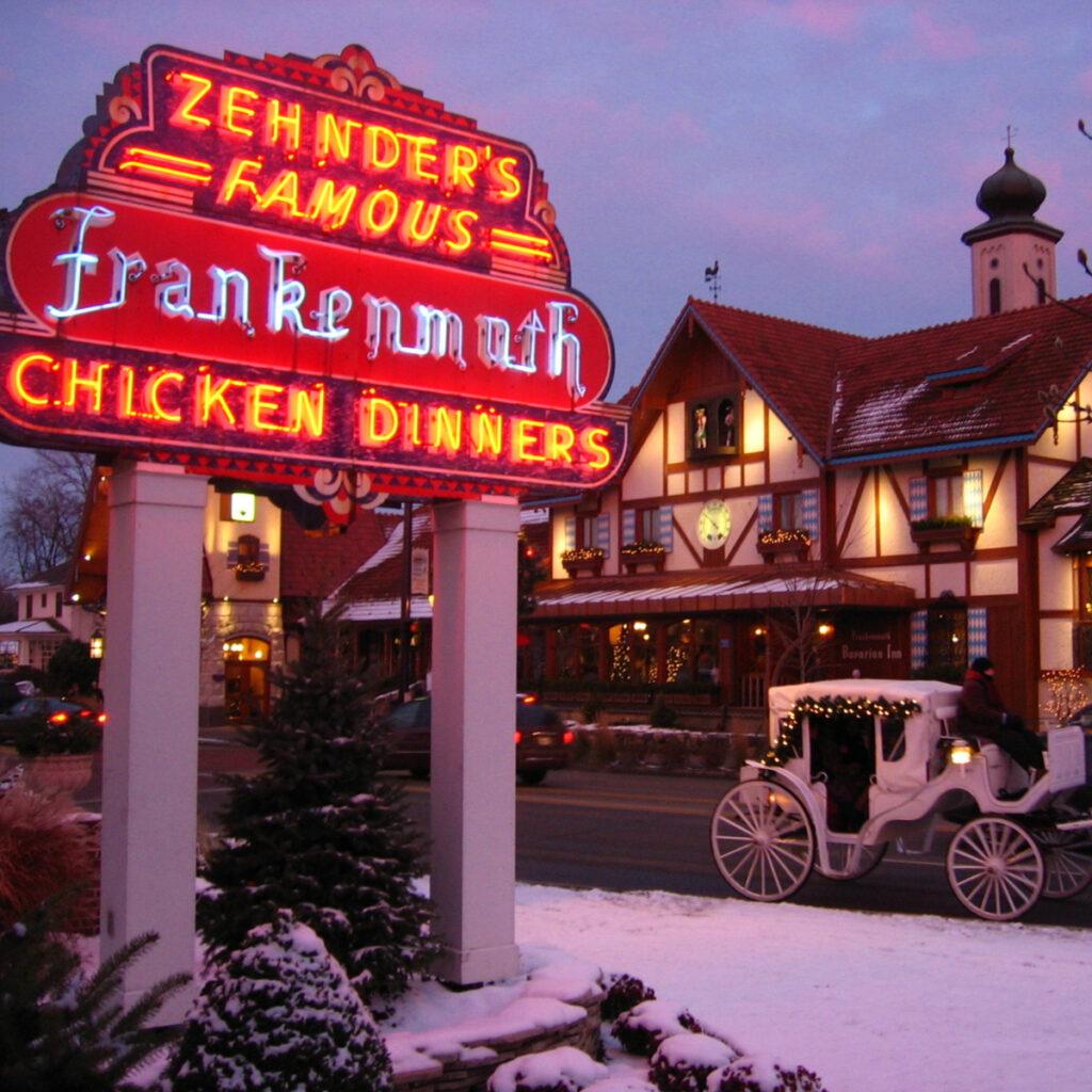 Zehnder's in Frankenmuth.