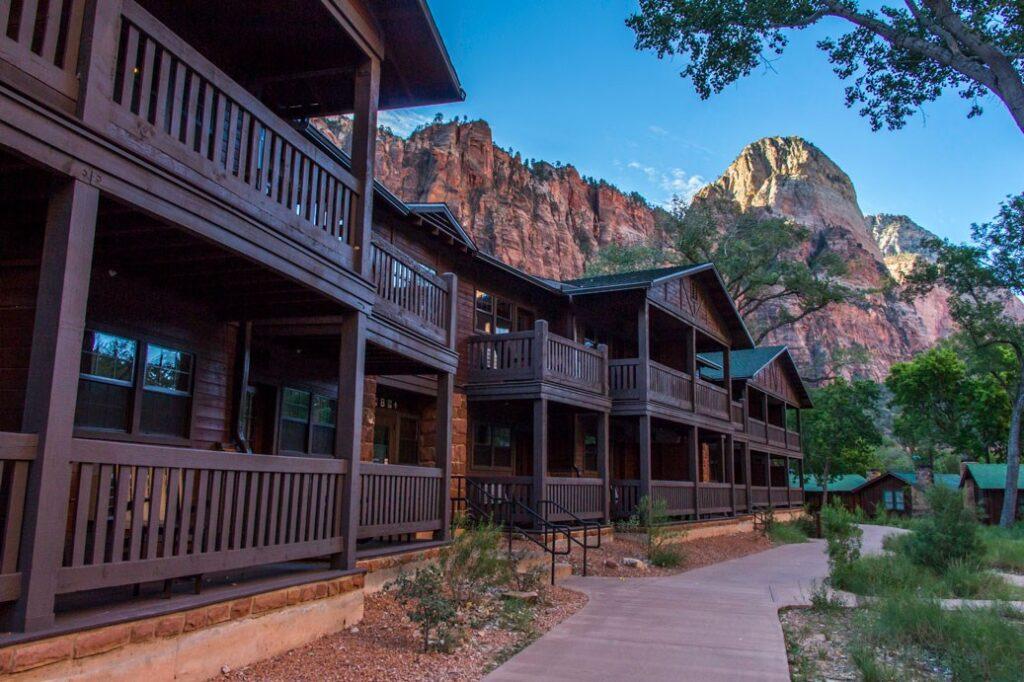 Zion National Park Lodge.