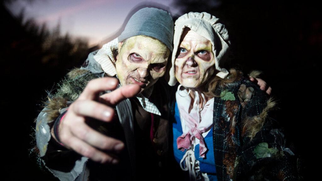 Zombies at Horseman's Hollow.