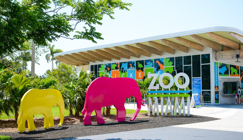 Zoo Miami in Florida.