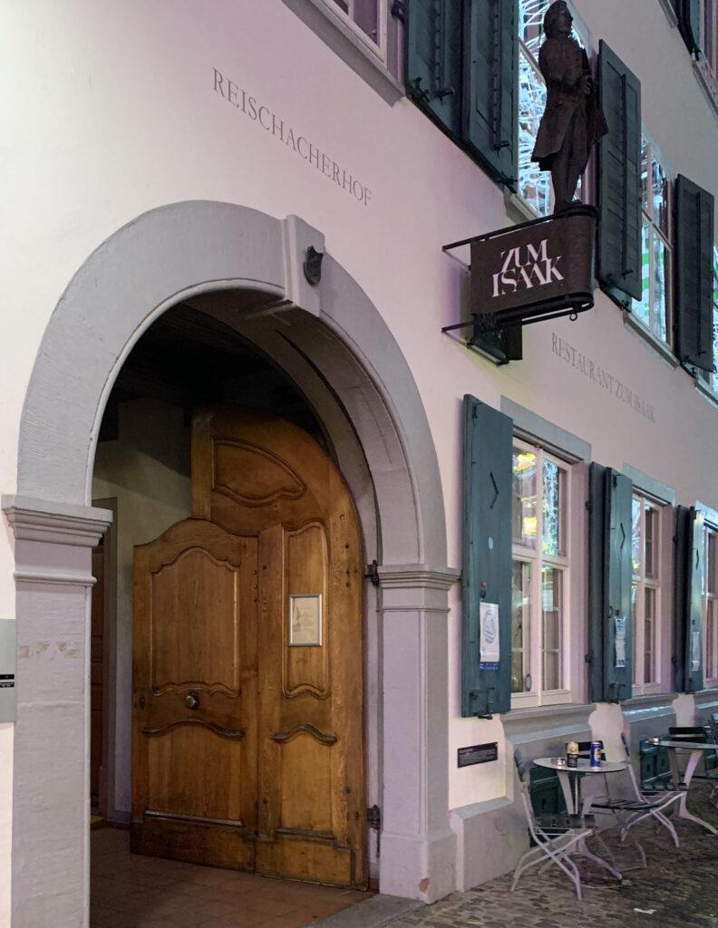 Zum Isaak in Basel, Switzerland.
