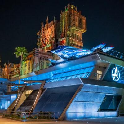 Avengers Campus concept, Disneyland.