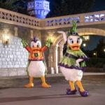 Halloween characters at Disney World.