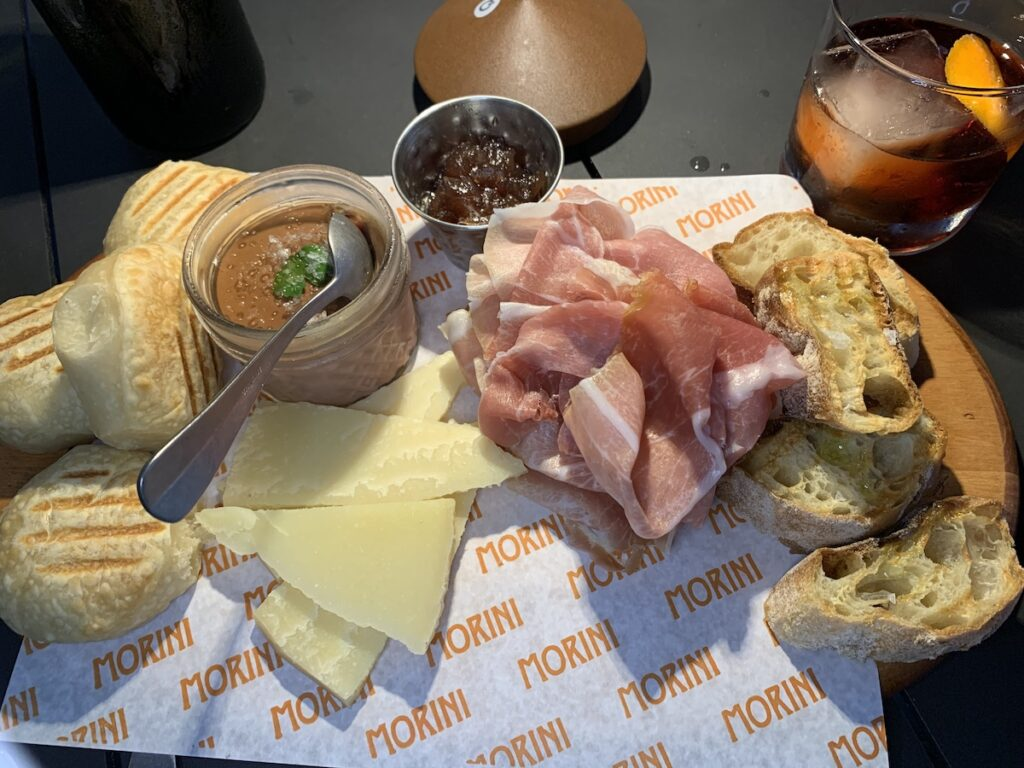 Food at Osteria Morini in Florida.