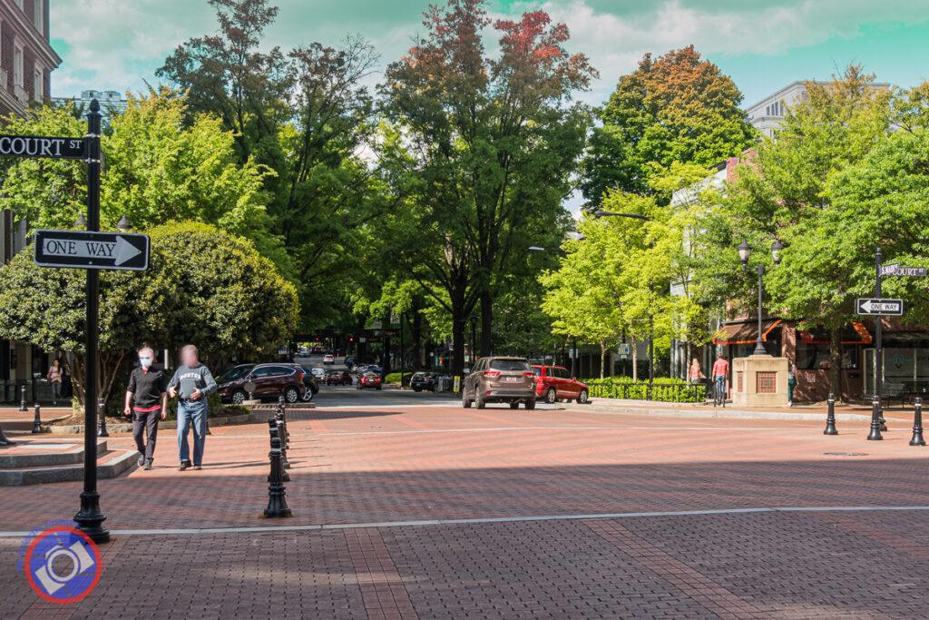 Main Street Greenville, South Carolina.