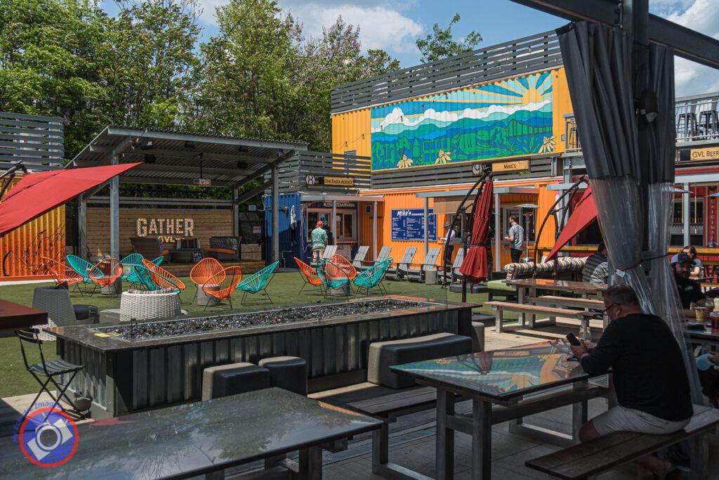 Gather GVL, food venue in Greenville.