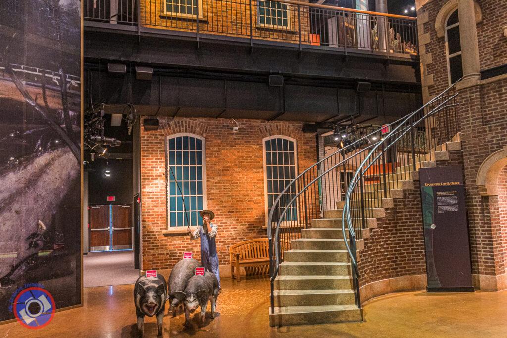 Upcountry History Museum, Greenville, South Carolina.