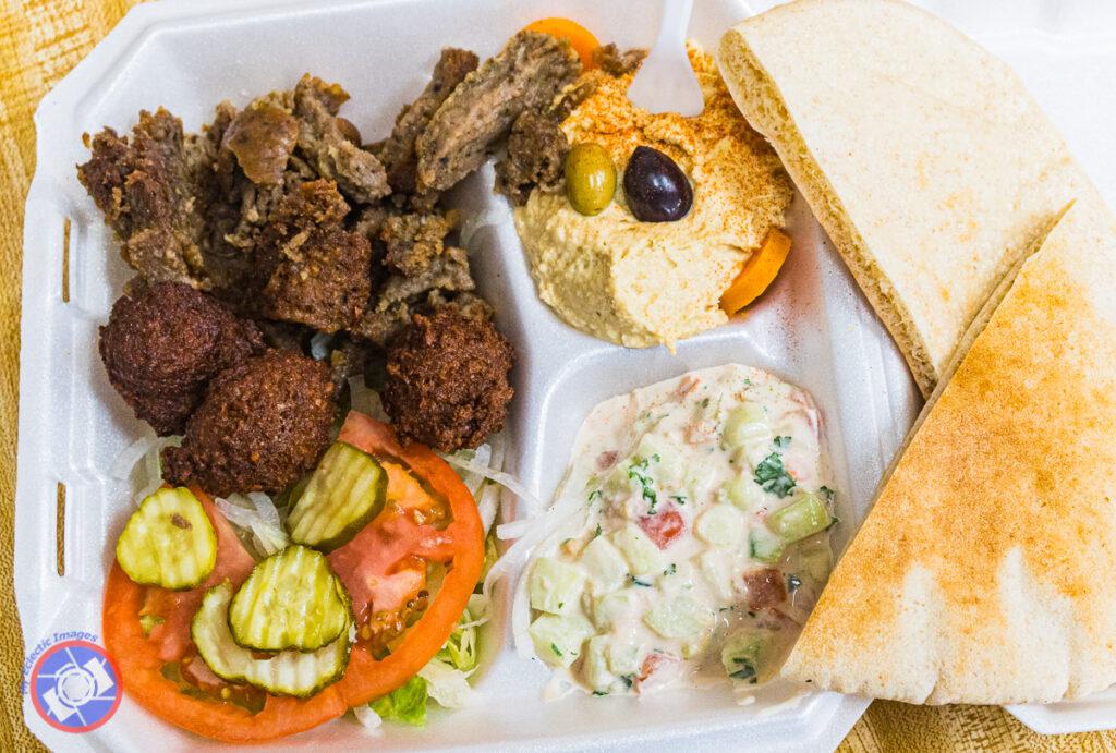 """Artimųjų Rytų maistas """"Pita House""""."""