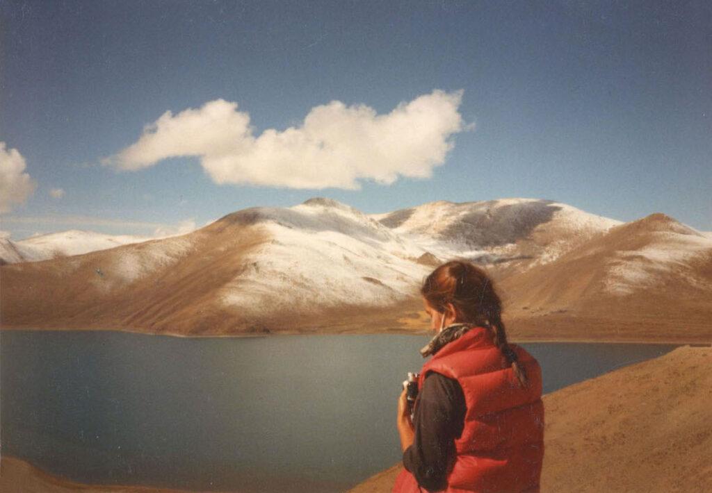 Traveler in Tibet.