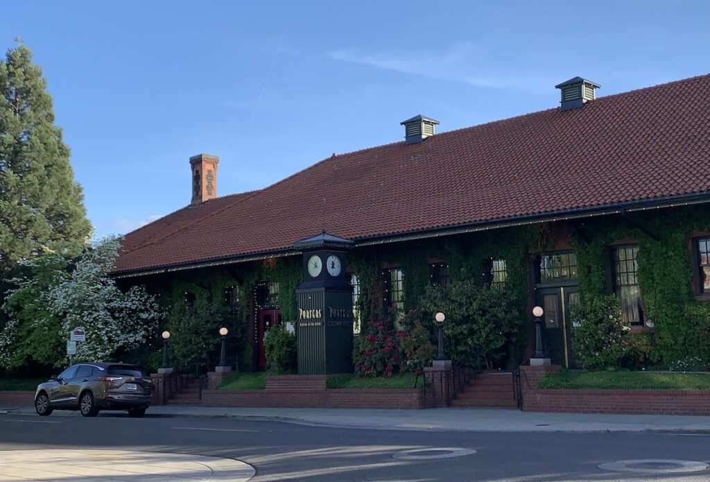 The exterior of Porters.