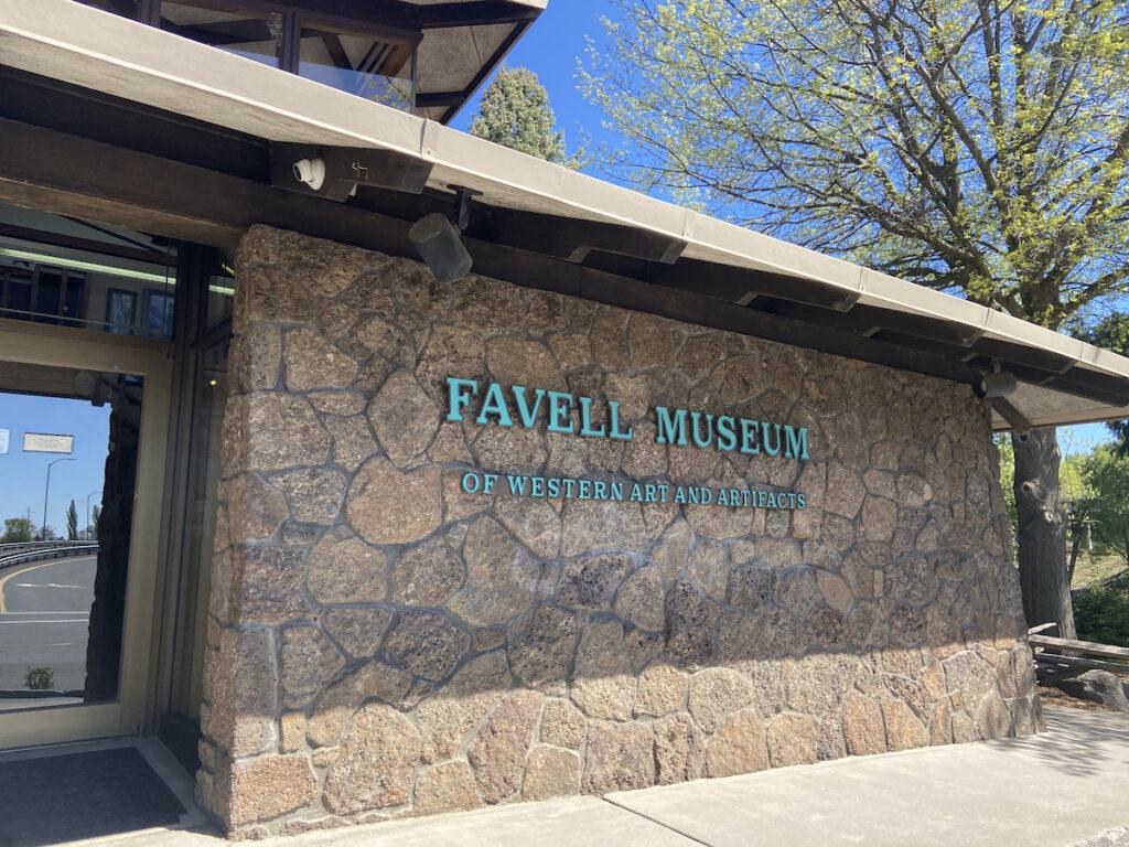 Favell Museum in Klamath Falls, Oregon.