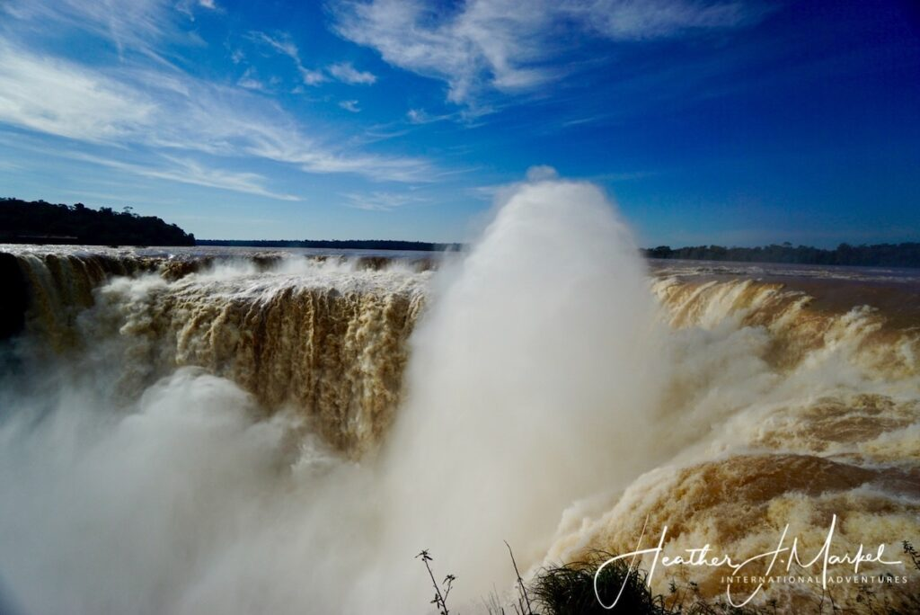 Igauzú Falls in Argentina