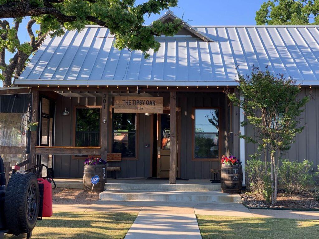 The Tipsy Oak in Arlington, TX.
