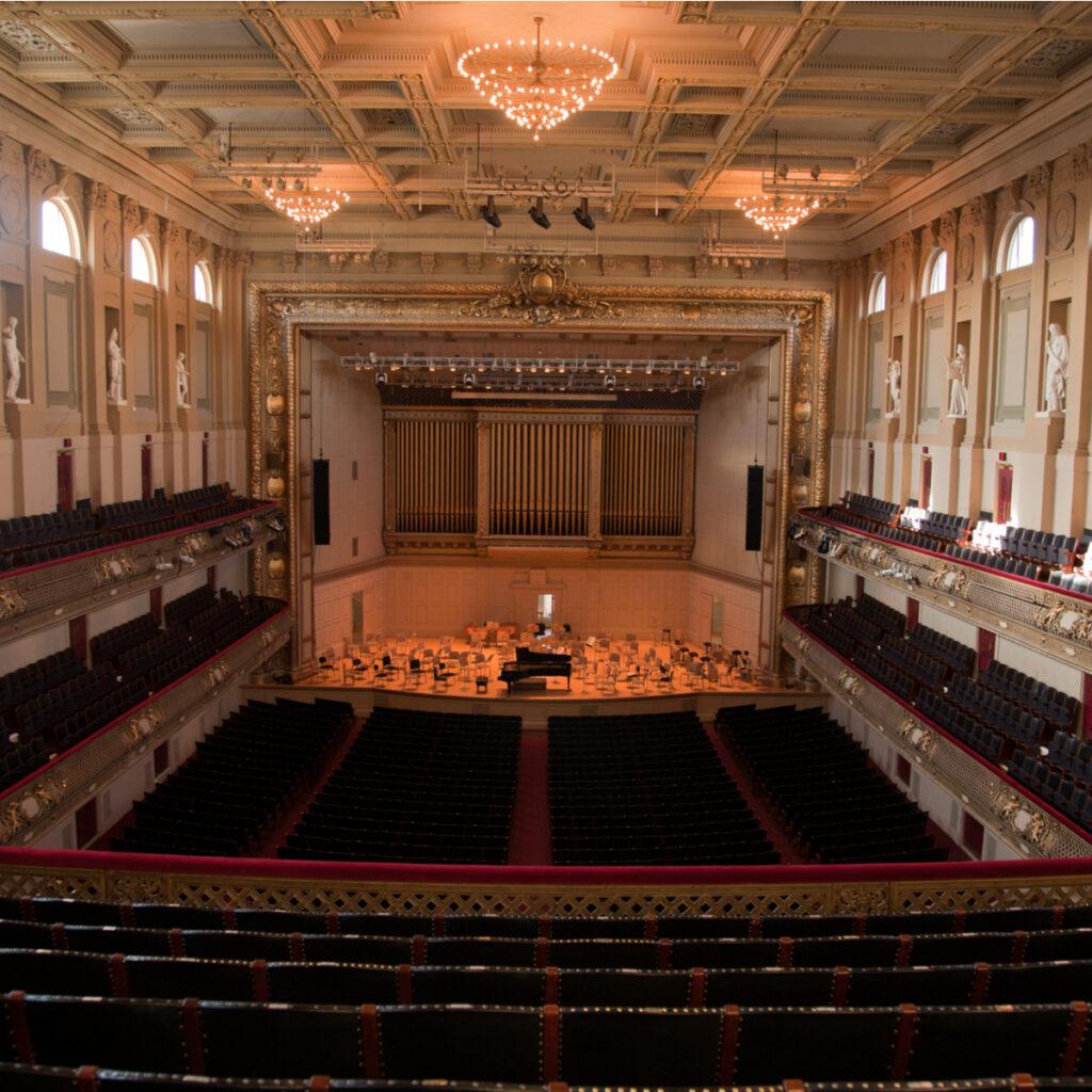 The Boston Symphony Orchestra.