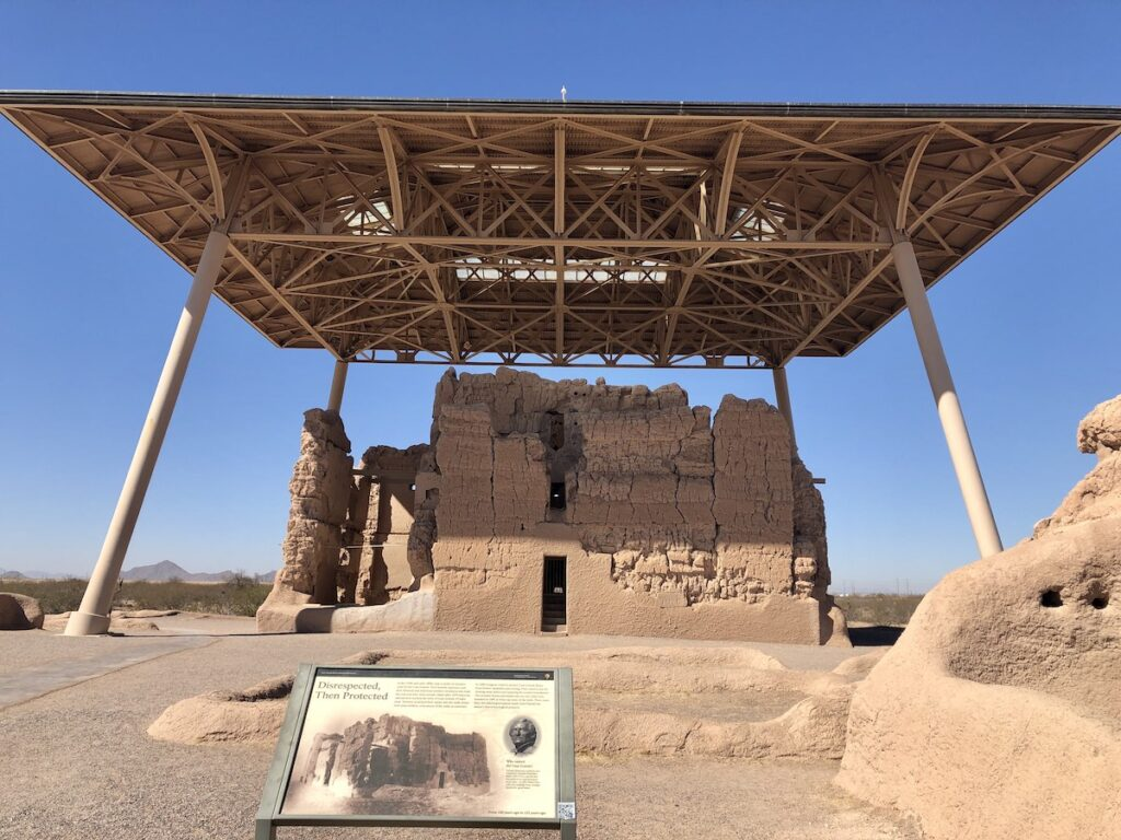Great House, Casa Grande Ruins National Monument.