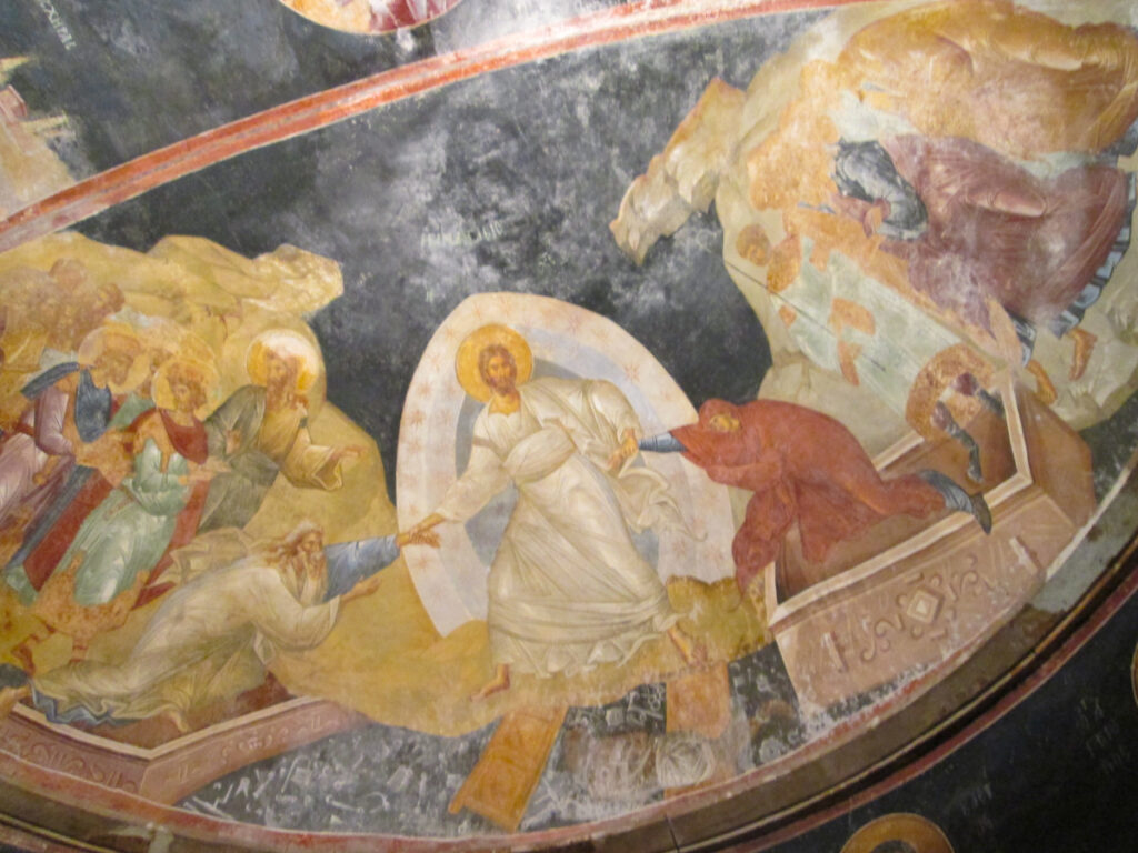 Frescoes in the Chora Museum, Istanbul.