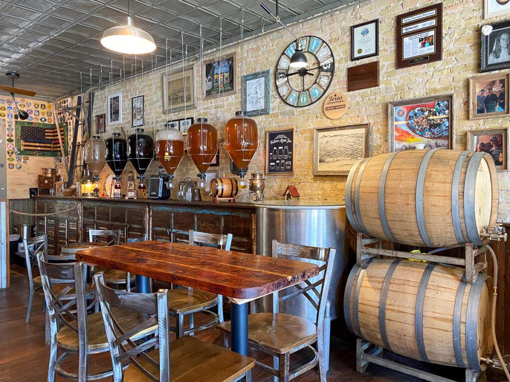 Copper Shot Distillery in Bastrop, Texas.