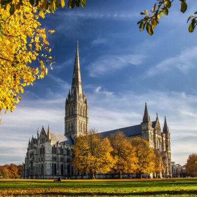 Salisbury Cathedral, Salisbury, UK.