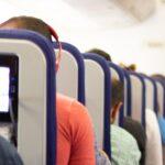 A crowded plane.