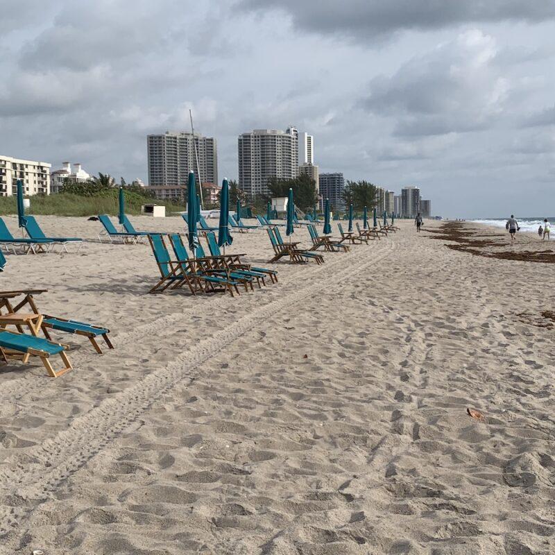 Palm Beach Shores in Florida.