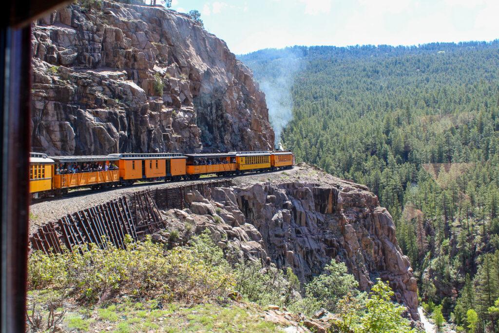 Durango to Silverton railroad.